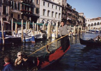 Rialto and Gondola