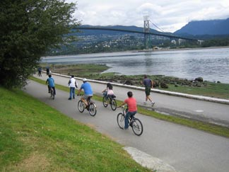 Vancouver bike paths