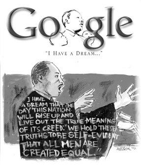 MLK google image